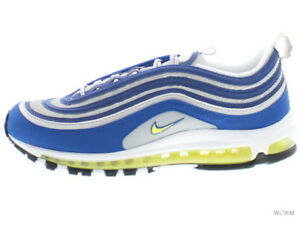 NIKE AIR MAX 97 921826-401 atlantic blue voltage yellow Size 10.5  60cf7380c