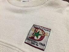 VTG 90's 1993 Dallas Stars Inaugural Season Nutmeg Sweater Jersey Rare
