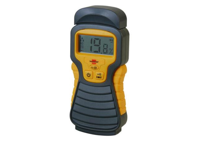 Brennenstuhl Feuchtigkeits-Detector Holzfeuchtemesser Detektor Messgerät TOP