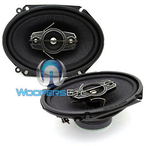 "PIONEER TS-A6886R 5"" x 7"" 6"" x 8"" 350W 4-WAY SOFT TWEETERS COAXIAL CAR SPEAKERS"