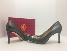 d049f31ffb3 item 4 Tory Burch Delphine 85mm Pewter Women s Pointed Toe High Heel Pumps  Size 8.5 M -Tory Burch Delphine 85mm Pewter Women s Pointed Toe High Heel  Pumps ...