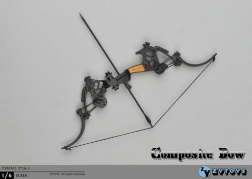 """1//6 Composite Bow Arrows for 12/"""" figure Soldiers military Weapon Hot Toys ❶USA❶"""