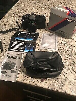 Nishika N8000 Everready Style Leather Case –New in Box CASE ONLY NO CAMERA