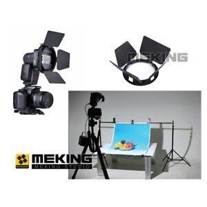 Flash-Accessory-SGA-BD4-Barndoor-For-Canon-Nikon-YongNuo-Sony-Speedlight-Flash