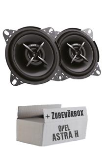 Sony Koax Lautsprecher Boxen Auto PKW KFZ Einbauset für Opel Astra H Heck//hinten