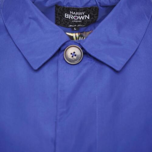 In Single Trench Breasted Brown Harry Cobalt Coat xXq5fSwa 2d18b7c297