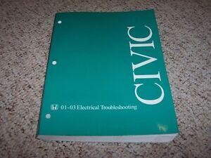image is loading 2001-2003-honda-civic-electrical-wiring-diagram-manual-