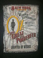 OZ GREAT POWERFUL T SHIRT Wizard Master of Illusion James Franco Mila Kunis 2XL