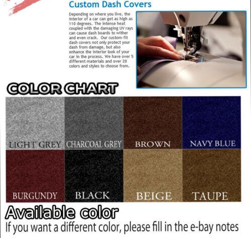BLACK fits 1995-1996  CHEVROLET  SUBURBAN  DASH COVER MAT DASHBOARD PAD