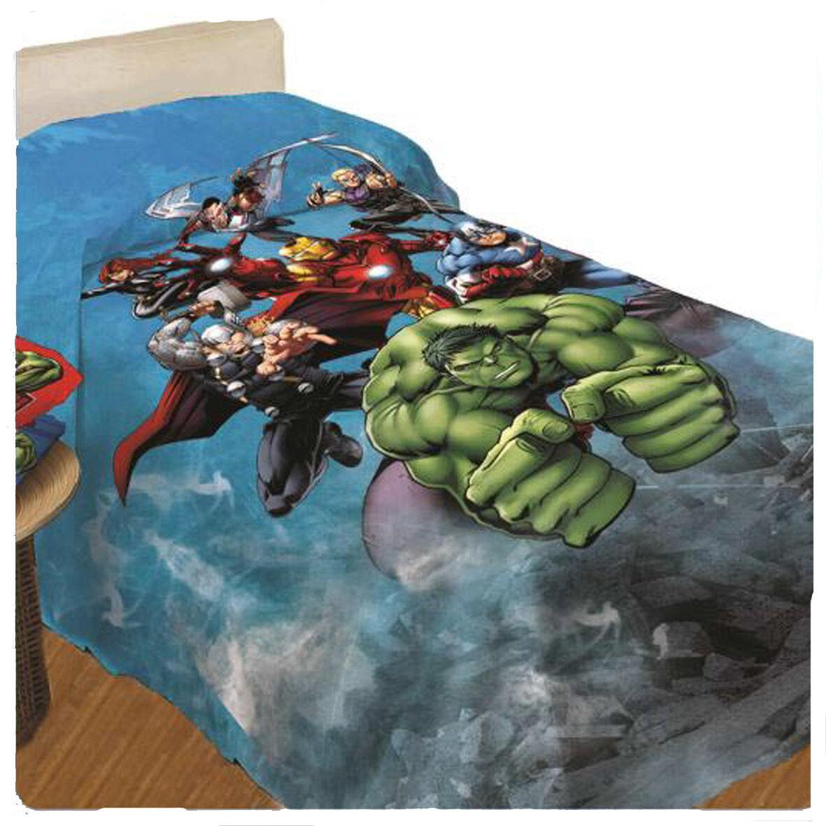 Avengers Tagesdecke Baumwolle Bedruckt 1 Quadrat 170x260 cm 2016/17