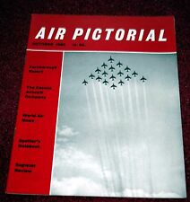 Air Pictorial 1960 October Farnborough,Cessna,Fairey Battle
