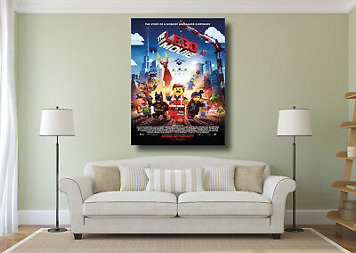 A0 A1 A2 A3 A4 The Lego Movie Poster Kids Classic Cinema Large Wall Art Print