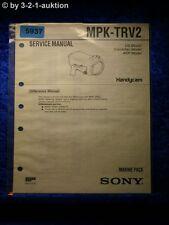 Sony Service Manual MPK TRV2 Marine Pack (#5937)