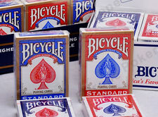 BICYCLE RIDER BACK PLAYING CARDS x 12 POKER SIZE STANDARD INDEX MAGIC TRICKS