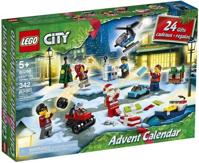 LEGO City 60268 - Advent Calendar (342 pieces) - NEW