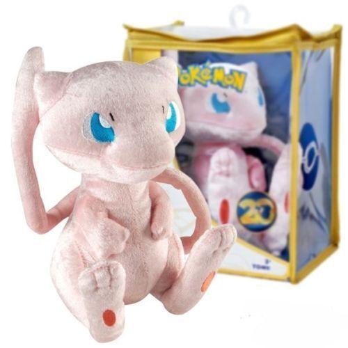 Tomy Pokemon Peluche Mew  151 20th Anniversary Nuovo - Edizione Limitata
