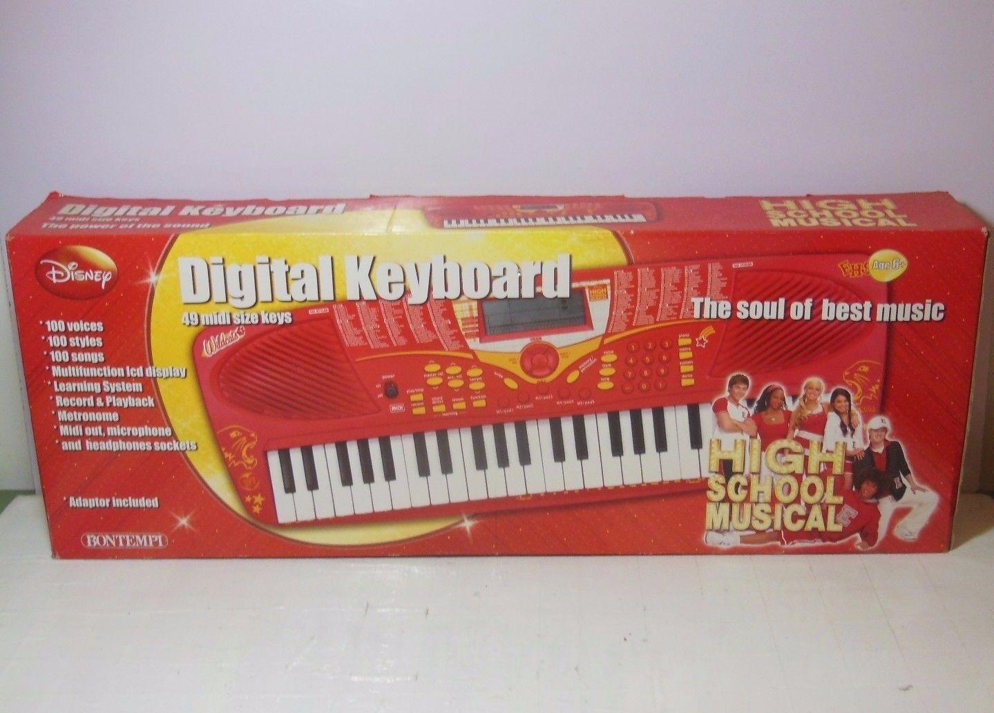 DIGITAL KEYBOARD hög SCHOOL MUSICAL - BONTEMPI Tastiera Elettronica