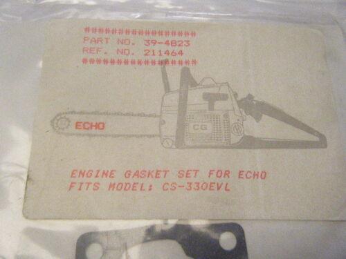 CS-330 EVL     PART NUMBER 39-4823 NEW ECHO GASKET SET      FITS