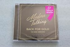 Modern Talking - Back for Gold - The New Versions CD Polish Stickers