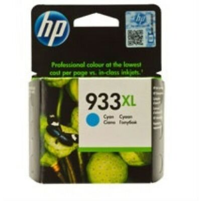 HP 933XL - CN054AE Genuine / Original Cyan Printer Ink Cartridge