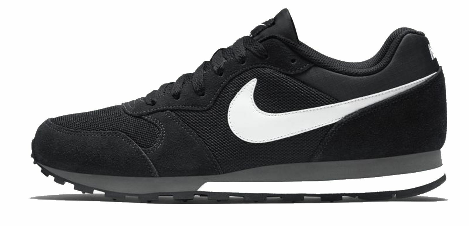 Nike Men's Sport Sport Sport shoes Leisure shoes Nike Md Runner 2 Black White 98ce7c