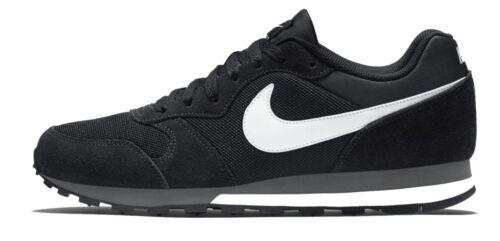 2 Herren Weiß Sportschuhe Runner Md Nike Freizeitschuhe Schwarz pn01wXZx