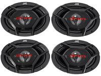 (4) Jvc Cs-dr6940 6x9 2200 Watt 4-way Car Stereo Audio Speakers on sale