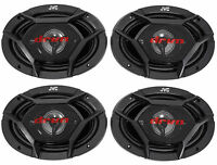 (4) Jvc Cs-dr6940 6x9 2200 Watt 4-way Car Stereo Audio Speakers