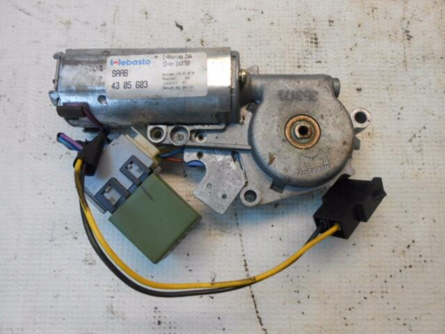 1994 Saab 9000 Cs Sunroof Motor And Relay Sun Roof