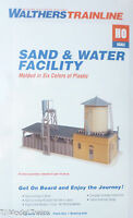 Walthers Ho 931-907 Sand & Water Facility (building Kit) Plastic Kit