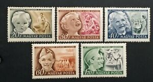 Briefmarke-Ungarn-Yvert-Und-Tellier-N-953-Rechts-957-N-MNH-Cyn36