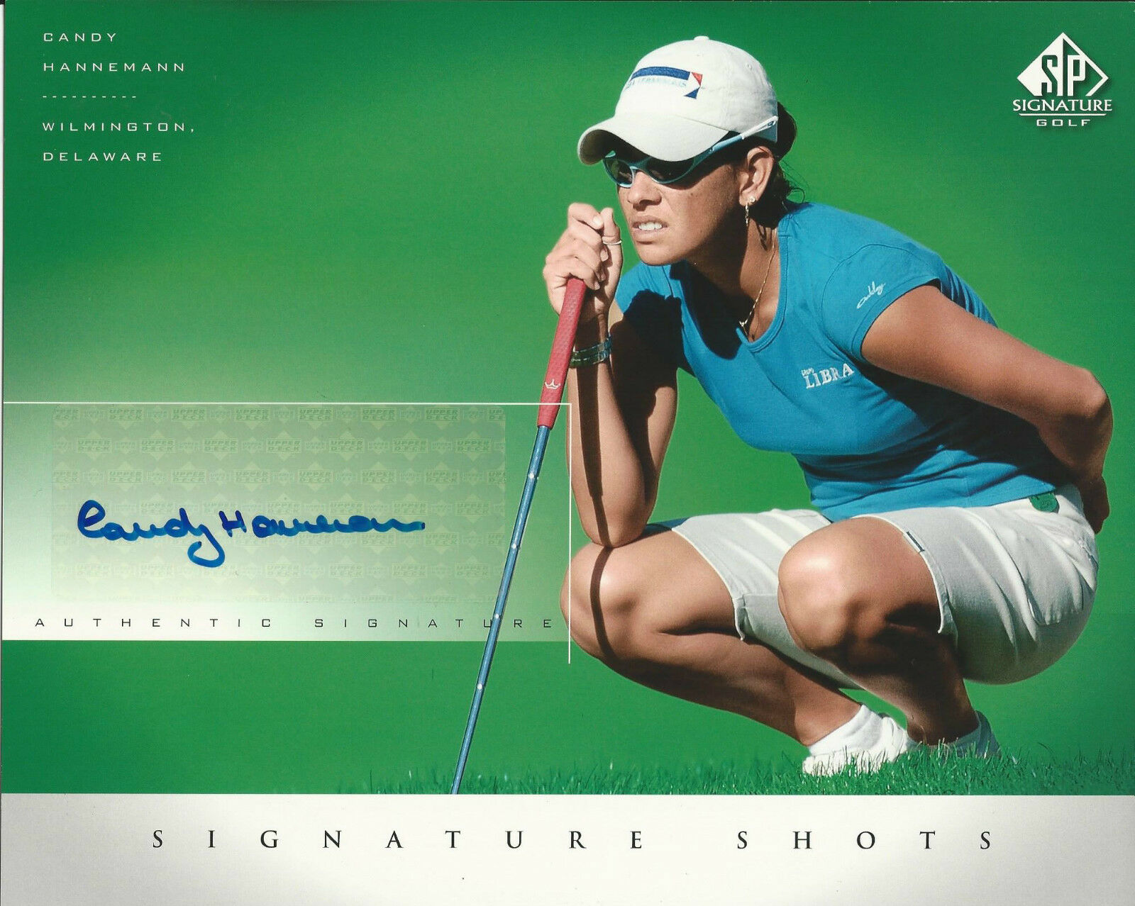 Candy Hannemann Signed SP Signature Shots 8x10 Photo