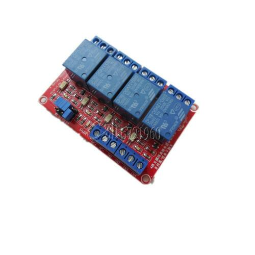 12V 4-Channel Relay Module with Optocoupler H//L Level Triger for Arduino