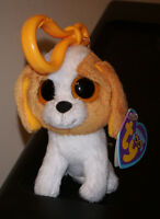 Ty Beanie Boos Key Clip Cookie The Dog Mint With Mint Tags Retired