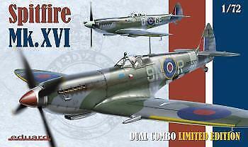 Eduard 1 72 Supermarine Spitfire Mk.XVI Dual Combo K2117