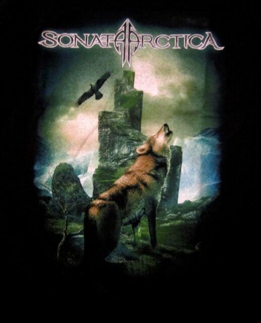 SONATA ARCTICA cd lgo 15th Anniversary SOMEWHERE Official SHIRT LAST XL New oop