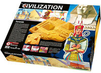 Bastelset Pyramiden Kreativität Formen Gips Antike Weltwunder Grabanlage