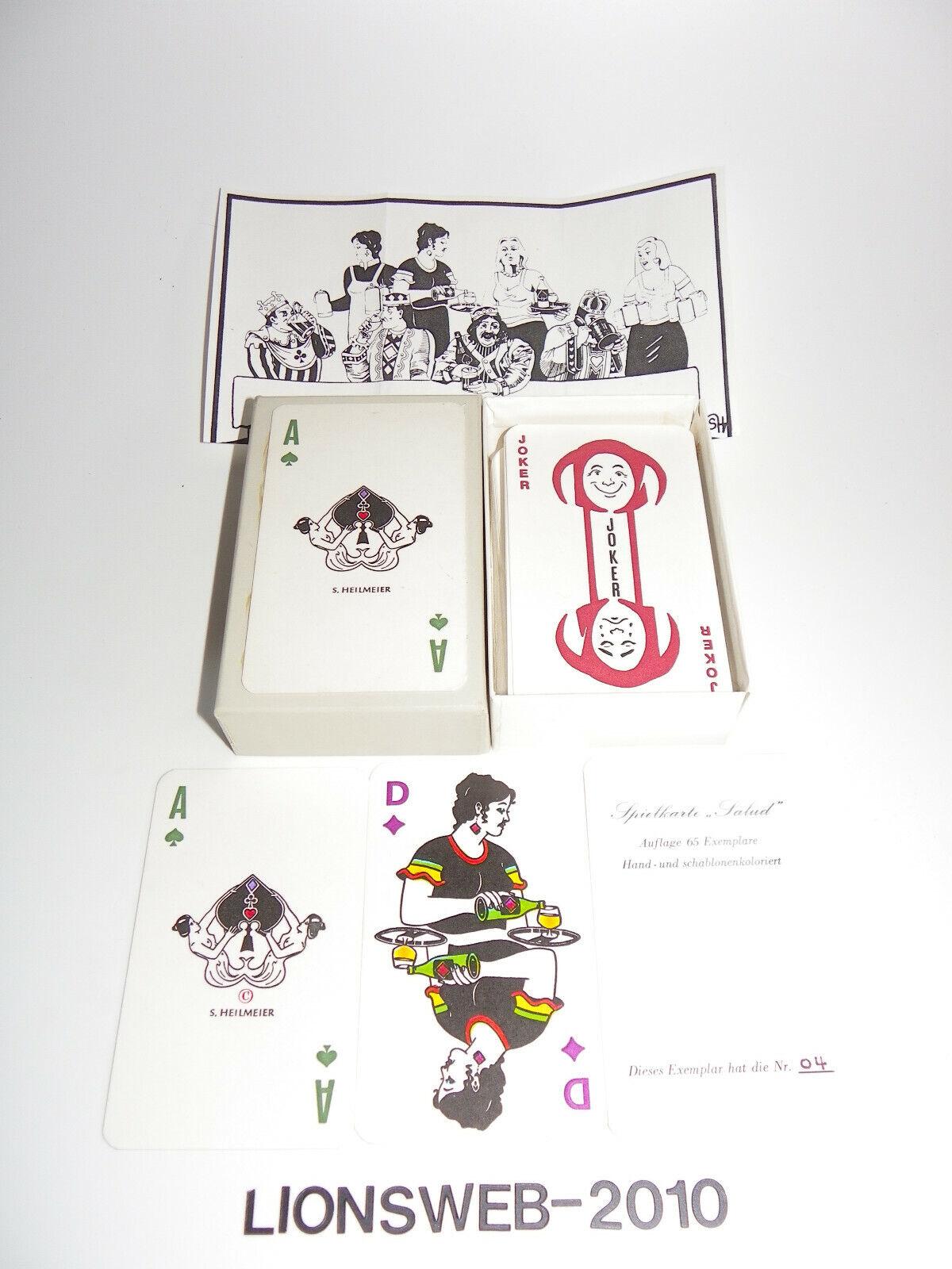Spielkarten Heilmeier Salud - Limitierte Auflage 04 65