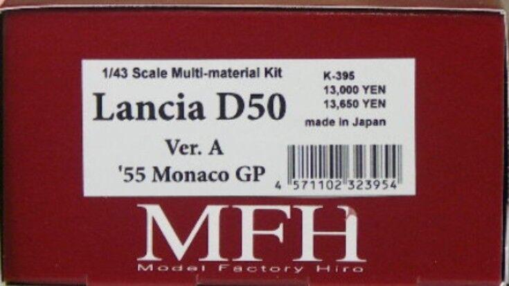 Modell - fabrik hiro 1   43 lancia d50 ver. 1955 monaco gp - multi - material - kit k-395