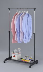 Kleiderstander Schuhablage Mobile Hangegarderobe Garderobe Schuh