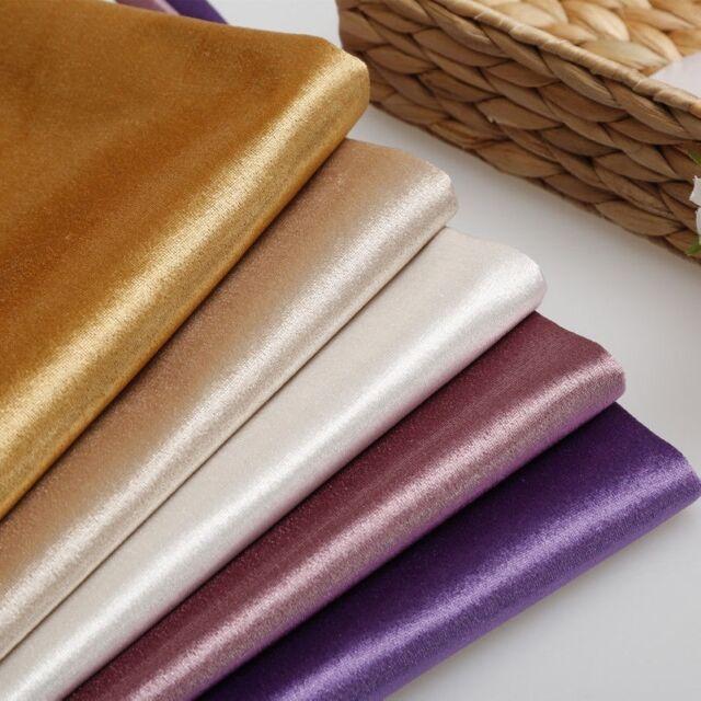 Zoffany Curtain//Upholstery Fabric /'Gondolier/' 1 METRE 100cm Twilight Velvet