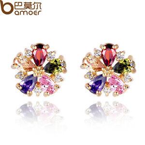 New-Luxury-18K-Gold-Plated-Earrings-Stud-With-AAA-Zircon-Jewelry-For-Women-Gift