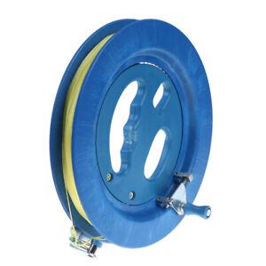 NEW Kite Ballbearing Reel Line Winder Grip Wheel with Flying Line 330 Feet