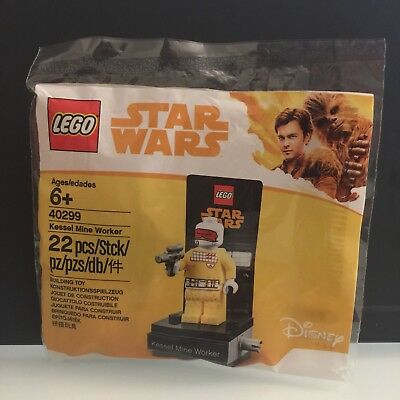 NEW LEGO sealed in its polybag Kessel Mine Worker polybag 40299