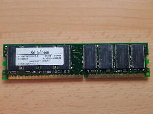 Infineon-512mb-hys64d64320gu-5-b-pc3200-64mx64-400-MHz-ddr1-cl3-184pin