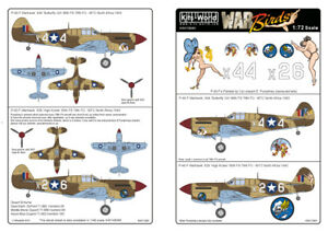 KITS-WORLD 1/72 P-40F Warhawk # 72061