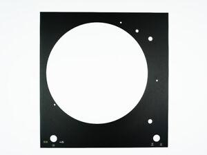 Thorens-TD-150-MkII-Mk2-NEUE-Abdeckung-SELTEN-NEW-Faceplate-Gravur