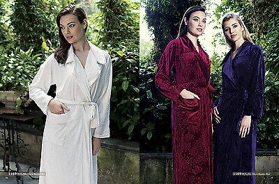 Long Velvet Robe Women's Artis Collection
