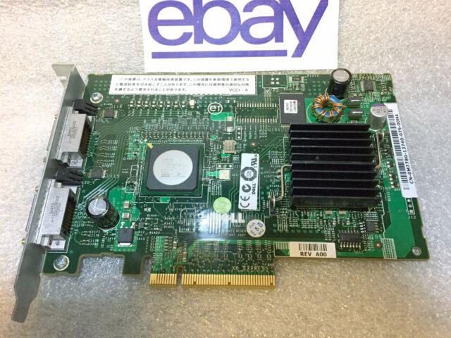 0XM768 Dell Pci-E Sas Controller W//256mb Cache