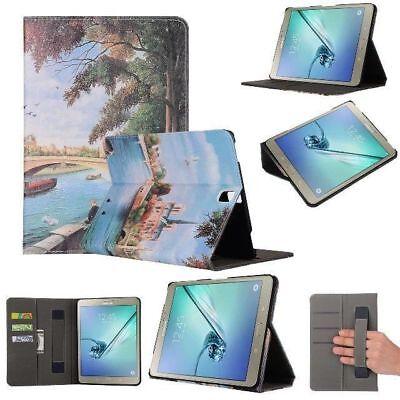 Di Larghe Vedute Cover Per Samsung Galaxy Tablet S3 T820 T825 Borsa Ecopelle Guscio Case Astuccio- In Molti Stili